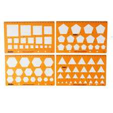 Pres A Ply Templates Helix Shape Templates 4 Pack Hobbycraft