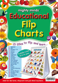 Educational Flip Chart A4 Mighty Minds