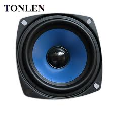 tonlen 1pcs 3 5 inch full range speaker 4 ohm 15 w diy hifi portable pc speaker wireless bluetooth speaker sound bar 11street malaysia portable