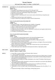 Software Developer Resume Resumes Writing Format Free Download For