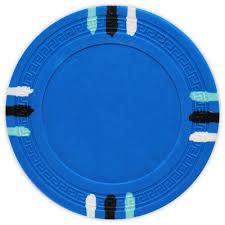 Light Blue Poker Chips 12 Stripe L Blue Clay Poker Chips