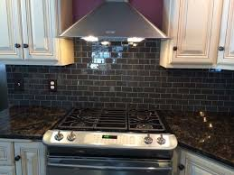 glass tile backsplash ideas with dark cabinets. gorgeous kitchen backsplash with glass tile! installed urban hues gray dark tile ideas cabinets o