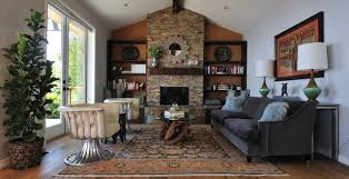 Modern Rustic Living Room transitional-living-room