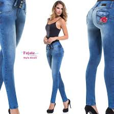 Designer High Waisted Skinny Jeans Details About Fajas Colombianas Embroidery Designer Skinny Jeans High Waist Fit Party Clubwear