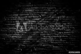 black brick walls background and