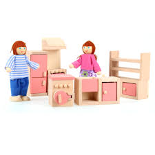 Kids Living Room Set Arshiner Happy Family Doll House Furniture Livingroom Setpink