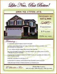 home for sale template 5 home for sale flyer template outline templates