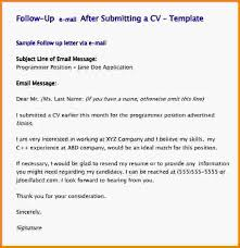 Follow Up Email After Resume Sample Follow Up Email After Sending Beauteous Follow Up Email After Submitting Resume