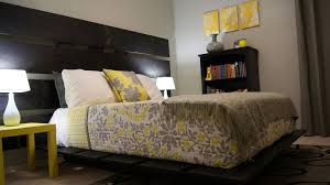 Yellow And Gray Bedroom Inspiration