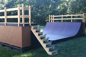 Man I Really Want To Build A Mini Ramp In My Backyard Consider It How To Build A Skatepark In Your Backyard