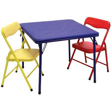showtime 3 folding table chairs set childrens and chair tables sets