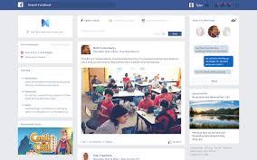 Facebook Website Design Facebook Redesign Concepts Web Inspiration Mobile App