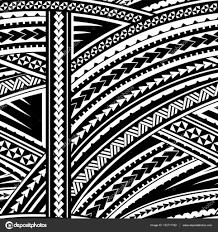 маори орнамент маори в стиле орнамент векторное изображение