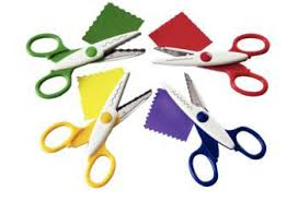 Pattern Scissors Mesmerizing Scissors Quill Craft Scissors Pack Of 48 Patterns