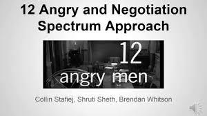 angry men spectrum analysis 12 angry men spectrum analysis