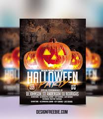 Halloween Flyers Templates Download This Free Halloween Party Flyer Template