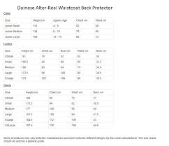 42 Unbiased Woof Wear Body Protector Size Chart