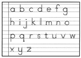 Print Handwriting Tip 1 Print Handwriting Alphabet
