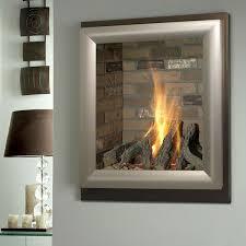 bronze wall mounted gel fuel fireplace