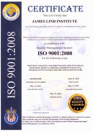 James Lind Institute Accreditation Singluv