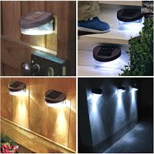 Solar Powered Wall Light Outdoor  Lightings And Lamps Ideas Outside Solar Powered Lights