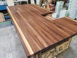 image of walnut oil and wax w hickory stripes maryland wood countertops hickory butcher block