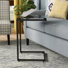 bonetti c shaped end table c shaped end table50