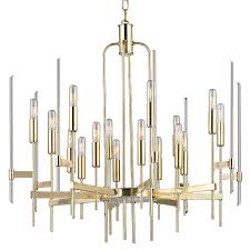 amazing of contemporary brass chandelier hudson valley 9916 agb bari contemporary aged brass finish 30