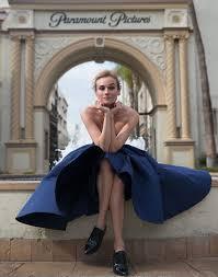 Diane Kruger Cover Story The Violet Files VIOLET GREY