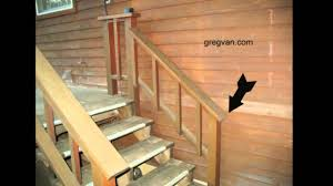 exterior stair railing height. exterior stair railing height