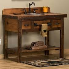 wood bathroom vanity units