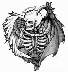 Tattoo Smrt Mrtví Vektorová Grafika Zdarma Na Pixabay
