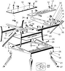 black and decker drill parts. black \u0026 decker 79-034 workmate 400 work center and drill parts