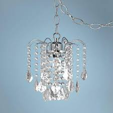 swag plug in chandelier fabulous plug in chandelier best images about girly room on plugs make up