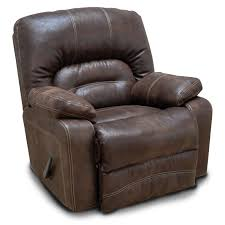 chocolate brown microfiber swivel rocker recliner legacy rc willey furniture
