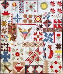 288 best Quilts-SAMPLER Quilts images on Pinterest | Crafts ... & Ohio Collection, 44 historic pieced and appliquéd patterns, book by Anita  Shackelford Adamdwight.com