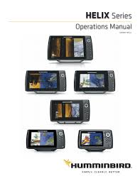 Humminbird Helix Product Manual 2109 Eng By Normark Suomi