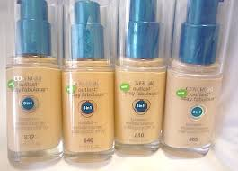 makeup review swatches cover outlast stay fabulous 3 in 1 foundation