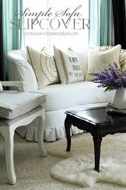 simple sofa slipcover from confessionsofaserialdiyer