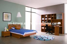 Melamine Bedroom Furniture Dark Walnut Melamine Bed Bedroom Furniture On This Furniture Dot Com