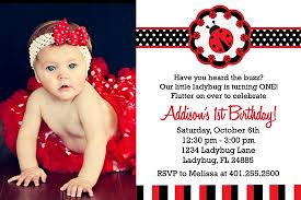 Ladybug Invitations Template Free Ladybug 1st Birthday Invitations Template Free Printable
