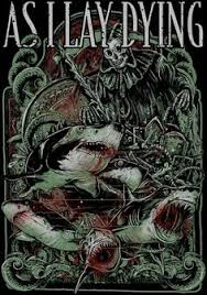 as i lay dying by akanine badass heavy metal and art designs as i lay dying skull art