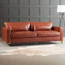 deep leather sofa.  Deep Maxine Leather Sofa Inside Deep S
