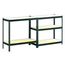 hdx plastic shelving shelving lighting plastic units 4 shelf black ventilated storage unit in d x w feet