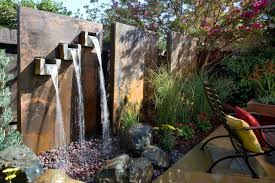 Small Picture Decor Tips Backyard Fences Design And Outdoor Wall Fountain For