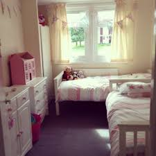 Small Bedroom For Girls This Is Our Twin Girls Toddler Bedroom After Changing A Few Things