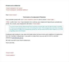 Notice Of Termination Of Employment Letter Termination Of Employment ...