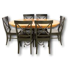 ethan allen dining tables. Ethan-Allen-Dining-Table-w6-Chairs_79258A.jpg Ethan Allen Dining Tables