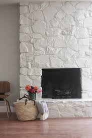 view in gallery a stone fireplace