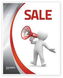 Speaker Templates Public Speaker Sale Poster Template In Microsoft Word